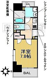 愛知県名古屋市千種区四谷通1丁目の賃貸マンションの間取り