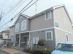 埼玉県東松山市松山町1丁目の賃貸アパートの外観