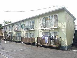 岡山県倉敷市藤戸町天城の賃貸アパートの外観