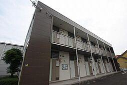 広島県福山市駅家町大字倉光の賃貸アパートの外観