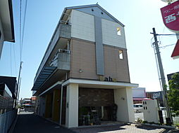 岡山県倉敷市平田の賃貸マンションの外観
