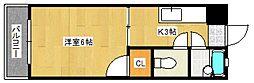 ステーションビルII[4階]の間取り
