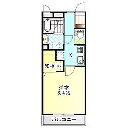 ジ・アパートメント荻窪III[303号室]の間取り