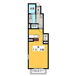 フィオーレ[1階]の間取り