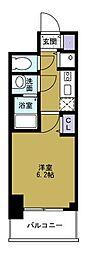 プレサンスOSAKADOMECITYワンダー[9階]の間取り