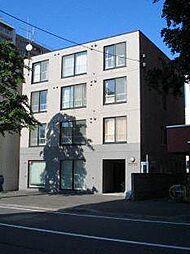 北海道札幌市北区北六条西6丁目の賃貸マンションの外観