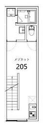 PRESI長崎[2階]の間取り