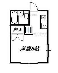 サンライフ湘南[2階]の間取り