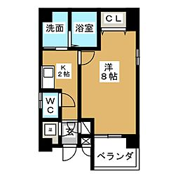 サニーコート東桜[3階]の間取り