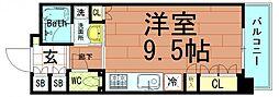 FLat北堀江[7階]の間取り