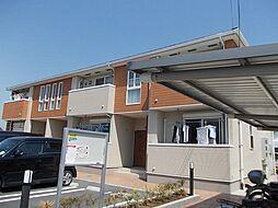兵庫県たつの市誉田町福田の賃貸アパートの外観