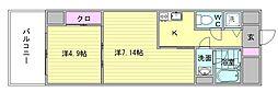 仮)地行2丁目新築計画[2階]の間取り