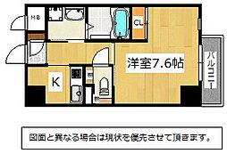 Studie KOKURA NORTH[2階]の間取り