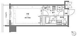 フェニックス横濱関内BAY MARKS[11階]の間取り