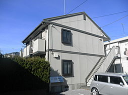 栃木県宇都宮市西川田3丁目の賃貸アパートの外観