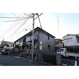 大阪府高槻市登町の賃貸アパートの外観