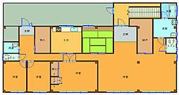 毛見住宅2階[1号室]の間取り