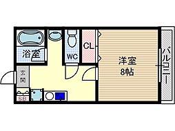 グランドシャトー2[2階]の間取り