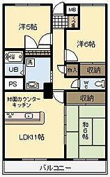 NoaHome神宮[303号室]の間取り