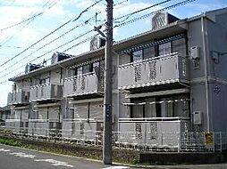 千葉県流山市加2丁目の賃貸アパートの外観
