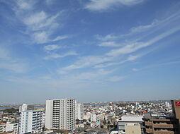 バルコニーからの眺望。お部屋から桑名水郷花火大会も見ることが出来ます。