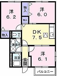 パムッカレ[1階]の間取り