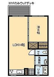 OGAWAアパート[103号室]の間取り