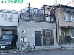 三重県桑名市新築町の賃貸アパートの外観