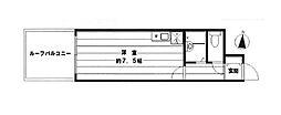 パレドール文京メトロプラザI[2階]の間取り