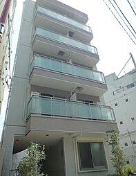 東京都北区東田端1丁目の賃貸マンションの外観