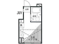 鳴海ビル[3階]の間取り