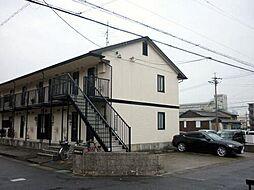 愛知県あま市西今宿山伏三の賃貸アパートの外観