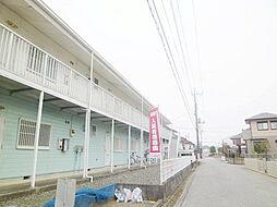 茨城県龍ケ崎市小柴3丁目の賃貸アパートの外観