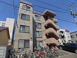 北海道札幌市豊平区月寒東三条3丁目の賃貸マンションの外観