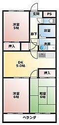 スパジオ665[2階]の間取り