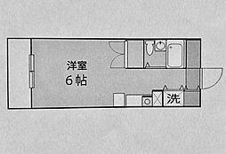 ジェイラム横濱[307号室]の間取り
