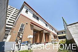 大阪府堺市堺区中三国ヶ丘町1丁の賃貸アパートの外観