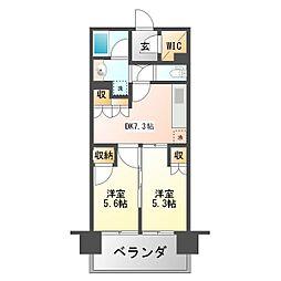アトラス吉祥寺[8階]の間取り