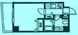 スペースアメニティ溝口[6階]の間取り