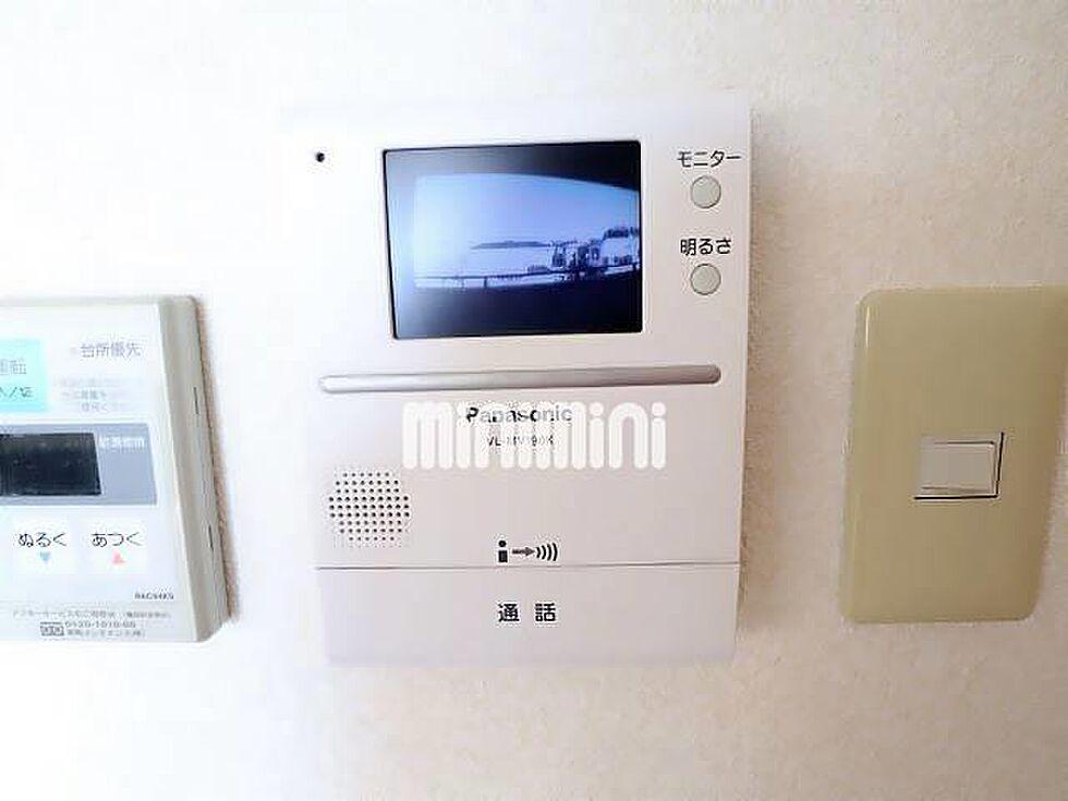 設備(カラーTVモニターホンで防犯面をサポート)