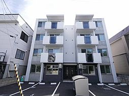 北海道札幌市北区北三十一条西8丁目の賃貸マンションの外観
