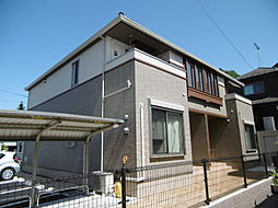 東京都あきる野市牛沼の賃貸アパートの外観