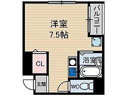 エクレールミヤケ[4階]の間取り