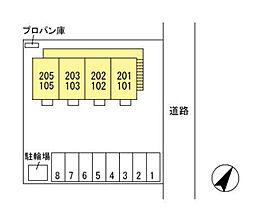 (仮)D-room西新井町[2階]の外観