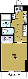 WillDo千代崎[5階]の間取り