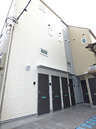 埼玉県蕨市塚越2丁目の賃貸アパートの外観