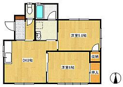ハルトメハウス[0101号室]の間取り