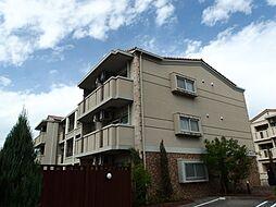 愛知県岡崎市真伝町字荒戸の賃貸マンションの外観