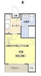 コンパートメントハウス千葉I[101号室]の間取り
