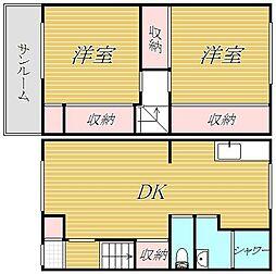 本中山7丁目テラス[1階]の間取り
